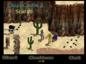 Cloud Castle 2: Scarab - Boss mode!