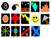All the cursors in the Cursor Pack.