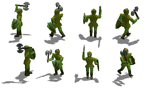The Green Axe Knight