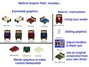 MsDinks GraphicsPak1 - Includes